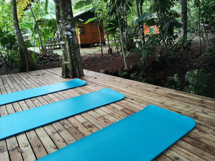 Plataforma para Yoga